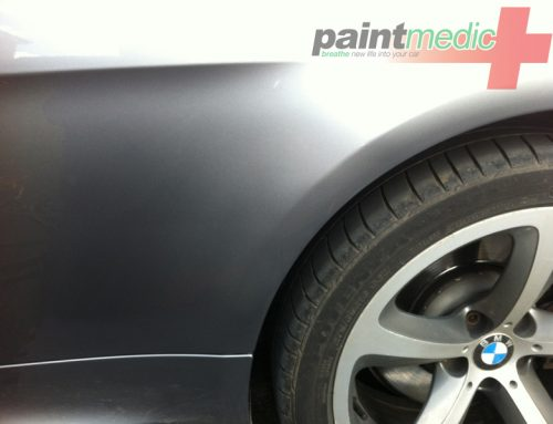 Car scratch after Paintmedic repair